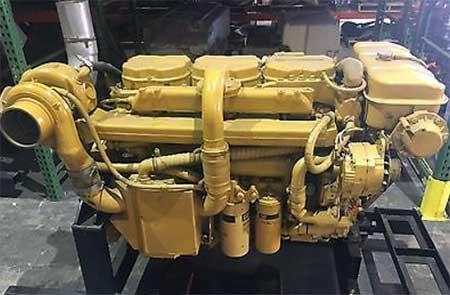 Used Marine Diesel Engines | Strike Marine Salvage Sales