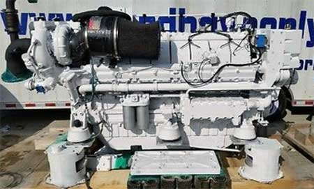 Used Marine Diesel Engines | Strike Marine Salvage Sales