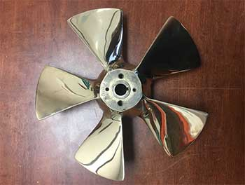 ABT Trac 12 Inch Right Hand Bowthruster Bronze Propeller Kit